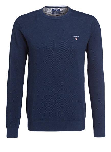 GANT Strickoberteile & Pullover   Gant Pullover blau