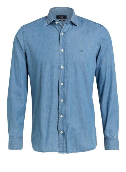 HACKETT LONDON Jeanshemd Slim Fit, Farbe: BLAU (Bild 1)