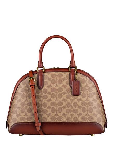 COACH Handtasche QUINN, Farbe: BEIGE/ BRAUN (Bild 1)