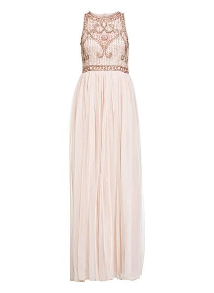 frock & frill Abendkleid mit Paillettenbesatz, Farbe: ROSÉ (Bild 1)
