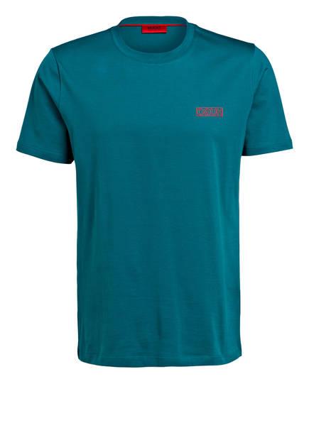 HUGO T-Shirt DURNED-U3, Farbe: PETROL (Bild 1)