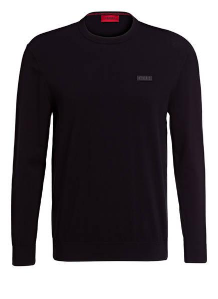 HUGO Pullover SAN CLAUDIO, Farbe: SCHWARZ (Bild 1)