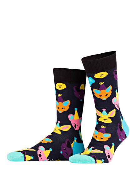 Happy Socks 3er-Pack Socken, Farbe: DUNKELBLAU/ GELB/ SCHWARZ (Bild 1)
