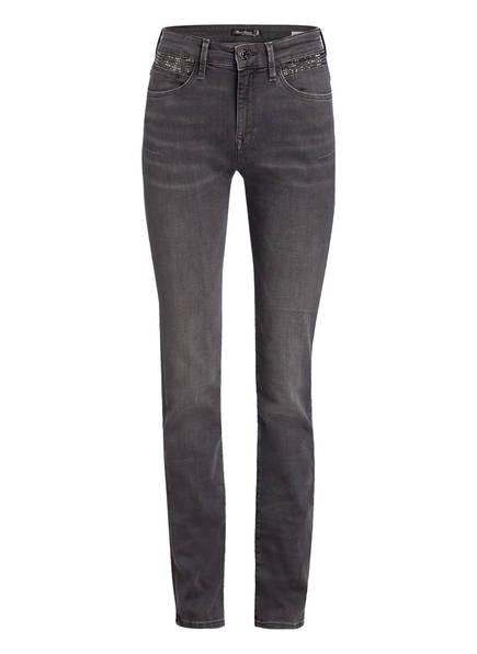 Mavi Jeans Kendra Mit Nietenbesatz grau
