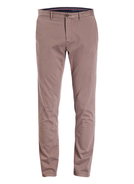 TOMMY HILFIGER Chino DENTON Straight Fit, Farbe: TAUPE (Bild 1)