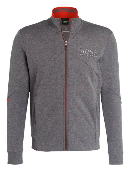 BOSS Sweatjacke SKAZ Regular Fit, Farbe: GRAU MELIERT (Bild 1)