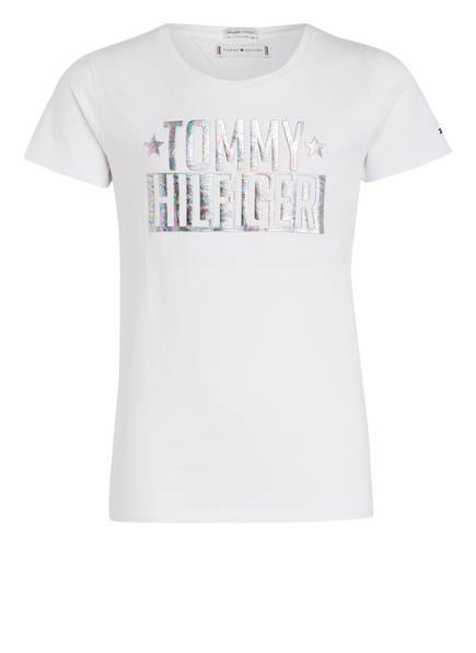 TOMMY HILFIGER T-Shirt , Farbe: WEISS (Bild 1)