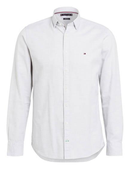 TOMMY HILFIGER Hemd Regular Fit, Farbe: GRAU/ WEISS (Bild 1)