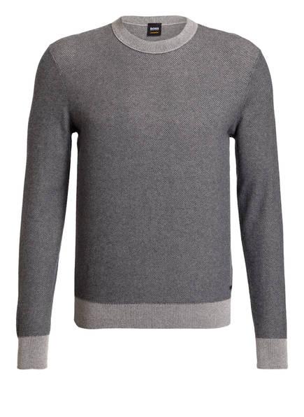 BOSS Pullover AFACE, Farbe: GRAU MELIERT (Bild 1)