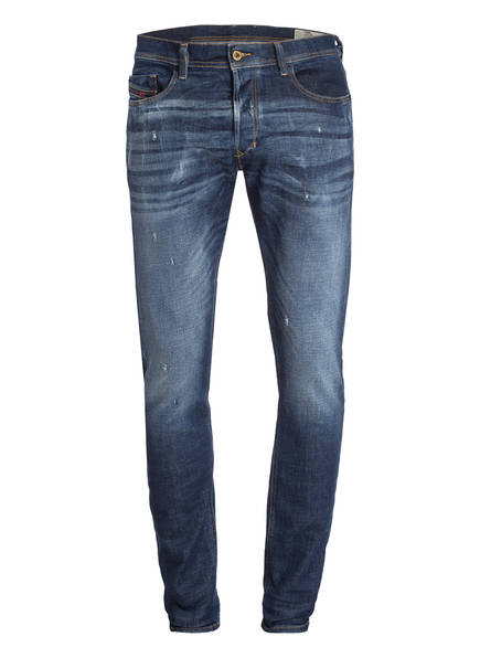 DIESEL Jeans TEPPHAR Slim Carrot Fit , Farbe: MID BLUE DENIM (Bild 1)
