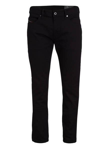 DIESEL Jeans THOMMER Slim Skinny Fit, Farbe: SCHWARZ (Bild 1)