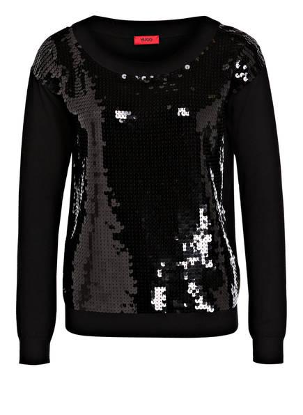 HUGO Pullover SEMPERY, Farbe: SCHWARZ (Bild 1)