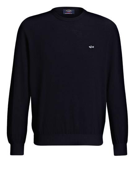 PAUL & SHARK Schurwoll-Pullover, Farbe: NAVY (Bild 1)