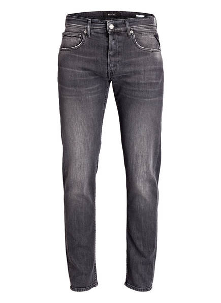 REPLAY Jeans GROVER Straight Fit, Farbe: 009 MEDIUM GREY (Bild 1)