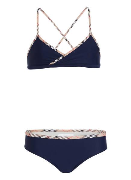 BURBERRY Bikini, Farbe: DUNKELBLAU (Bild 1)