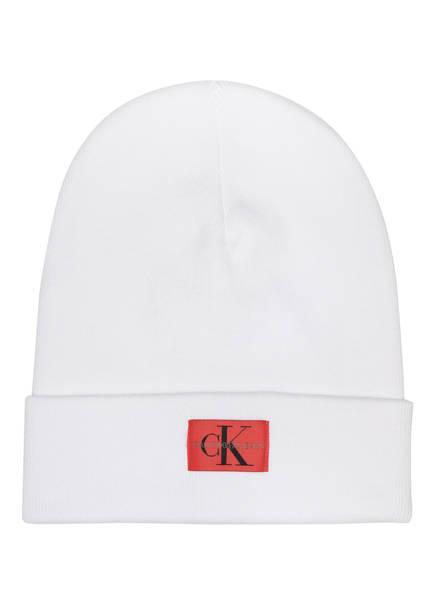 Calvin Klein Jeans Mütze , Farbe: WEISS (Bild 1)