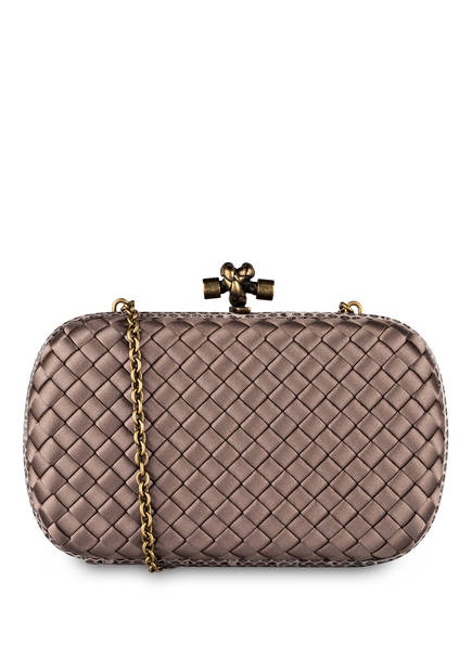 BOTTEGA VENETA Clutch KNOT, Farbe: STEEL NEW (Bild 1)