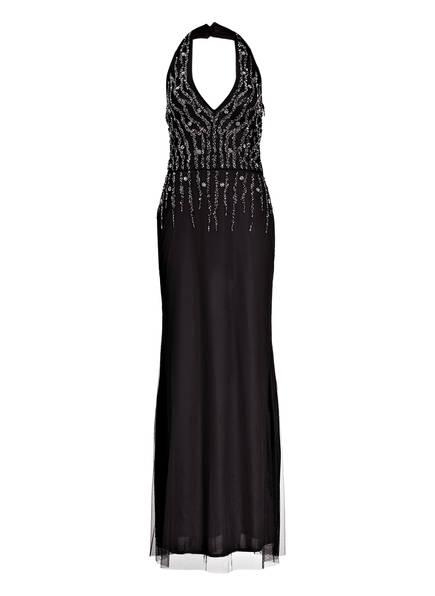 Young Couture by BARBARA SCHWARZER Abendkleid mit Perlenbesatz, Farbe: SCHWARZ (Bild 1)