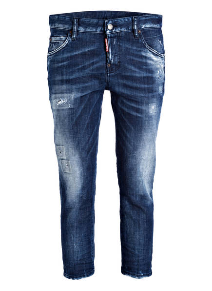 DSQUARED2 Destroyed-Jeans COOL GIRL, Farbe: BLUE (Bild 1)