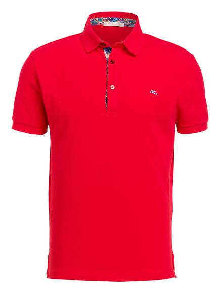 ETRO Piqué-Poloshirt, Farbe: ROT (Bild 1)