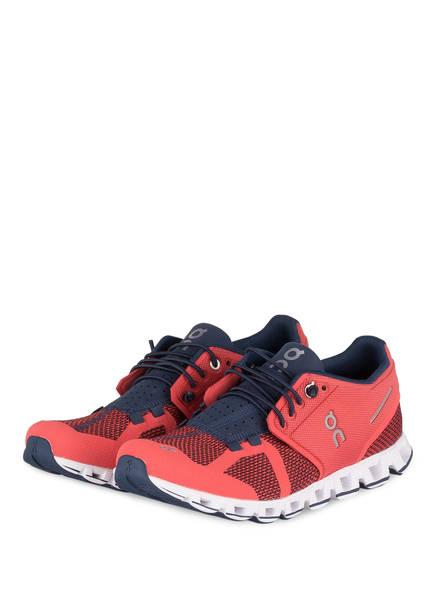 On Running Laufschuhe CLOUD , Farbe: KORALLE/ NAVY (Bild 1)