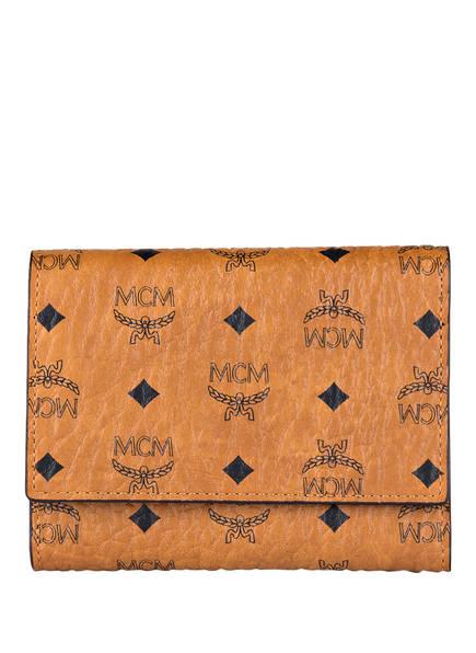 MCM Geldbörse VISETOS ORIGINAL, Farbe: COGNAC (Bild 1)