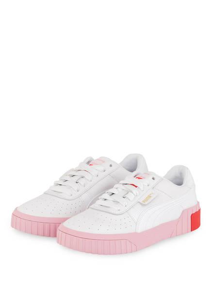 PUMA Sneaker CALI , Farbe: WEISS/ HELLROSA (Bild 1)