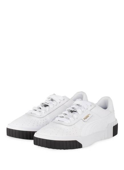 PUMA Sneaker CALI , Farbe: WEISS/ SCHWARZ (Bild 1)