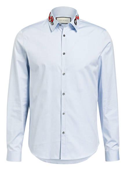 GUCCI Hemd Tailored Fit, Farbe: HELLBLAU (Bild 1)