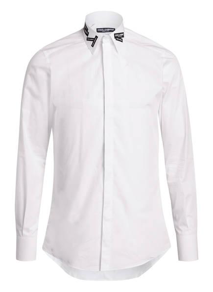 DOLCE&GABBANA Hemd Slim Fit, Farbe: WEISS (Bild 1)