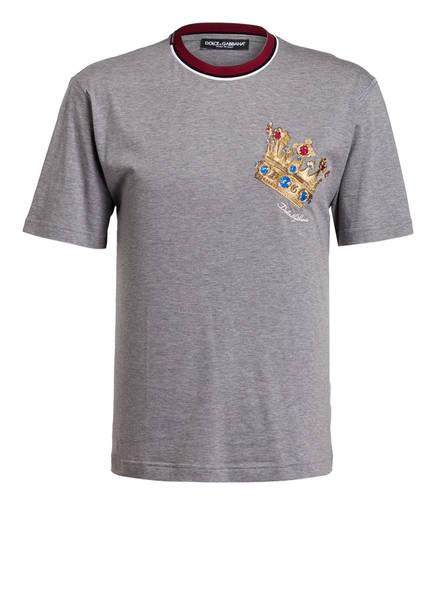 DOLCE&GABBANA T-Shirt, Farbe: GRAU (Bild 1)
