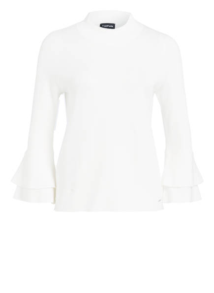 TAIFUN Pullover mit 3/4-Arm, Farbe: WEISS (Bild 1)