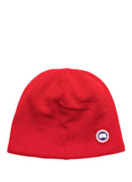 CANADA GOOSE Mütze , Farbe: ROT (Bild 1)