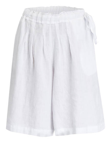 120%lino Leinen-Shorts, Farbe: WEISS (Bild 1)