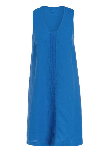 120%lino Leinenkleid, Farbe: BLAU (Bild 1)