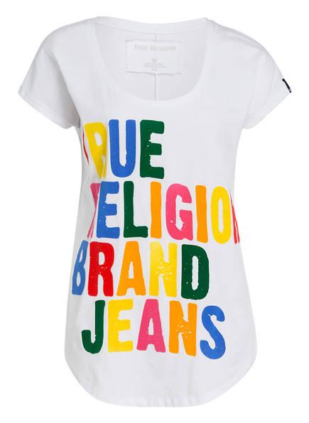 True Religion True Religion T T shirt shirt Weiss Weiss w6qTt