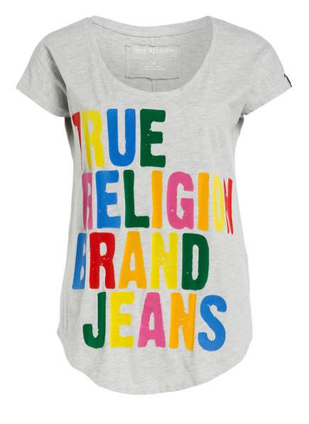 T True Religion shirt Grau Meliert 6qRwqF5