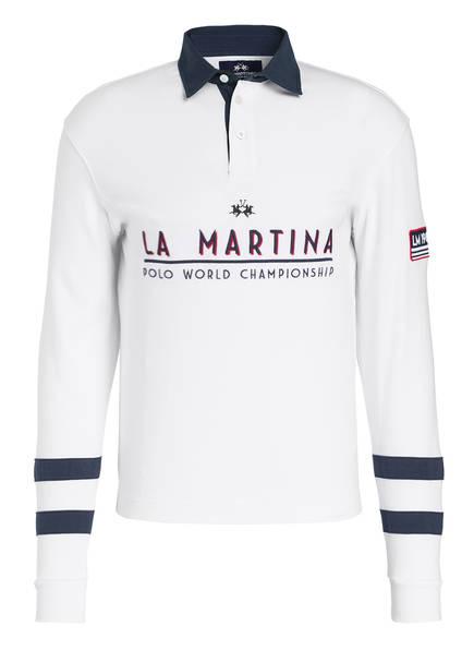 LA MARTINA Poloshirt, Farbe: WEISS (Bild 1)