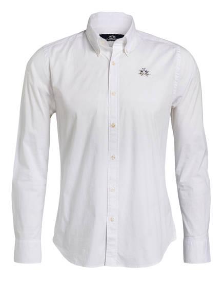 LA MARTINA Hemd Slim Fit, Farbe: WEISS (Bild 1)
