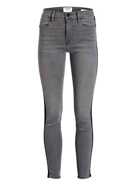 FRAME DENIM 7/8-Jeans LE HIGH SKINNY , Farbe: GRIMES GREY (Bild 1)