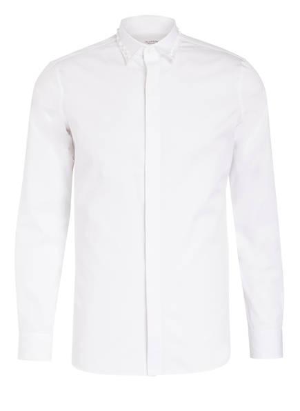 VALENTINO Hemd mit Nietenbesatz, Farbe: WEISS (Bild 1)