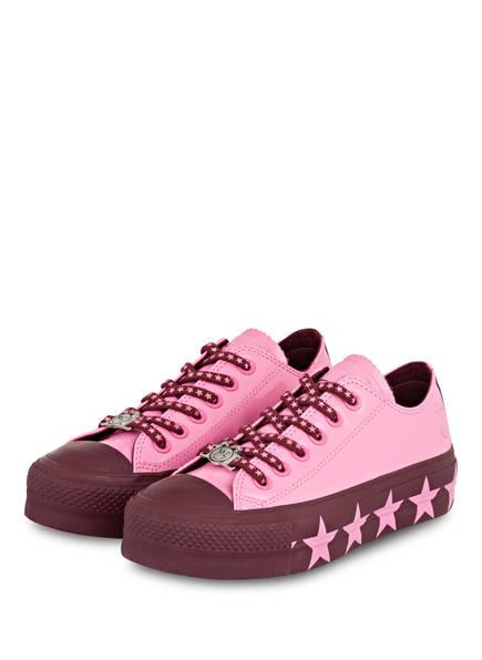 CONVERSE Sneaker CHUCK TAYLOR ALL STAR LIFT OX, Farbe: PINK (Bild 1)