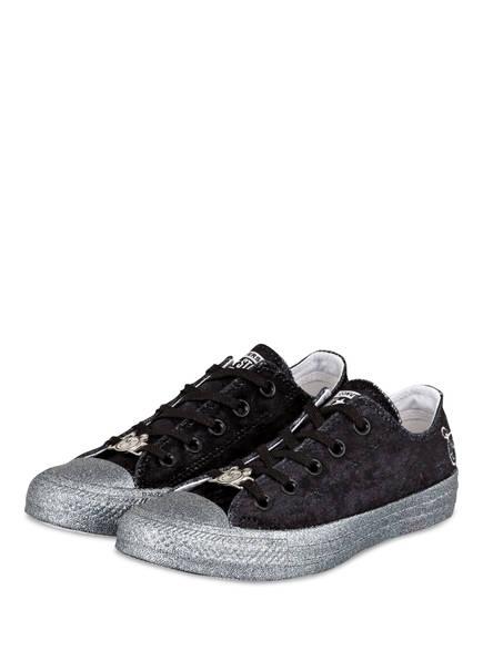 CONVERSE Sneaker CHUCK TAYLOR OX, Farbe: SCHWARZ (Bild 1)