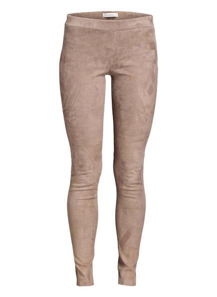 lilienfels Lederhose, Farbe: TAUPE (Bild 1)
