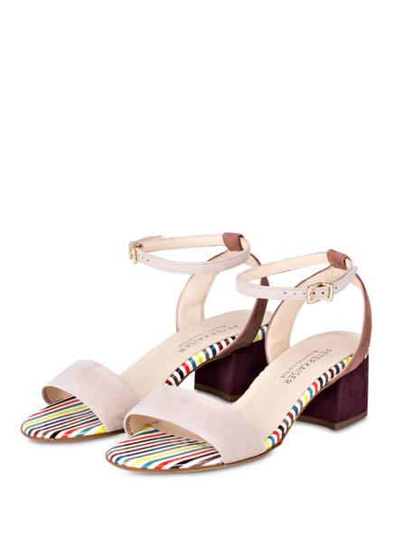 PETER KAISER Sandaletten CIRA, Farbe: HELLROSA/ LILA/ WEISS (Bild 1)