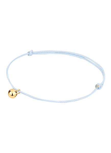 LOUISE KRAGH Armband , Farbe: HELLBLAU/ GOLD (Bild 1)