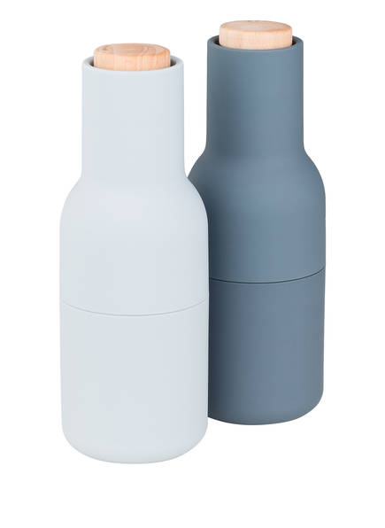 MENU Pfeffer- und Salzmühle BOTTLE GRINDER, Farbe: GRAU/ HELLBLAU (Bild 1)