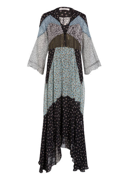 DOROTHEE SCHUMACHER Kleid, Farbe: 66 Black blue mix (Bild 1)