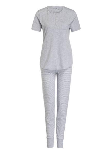 mey Schlafanzug, Farbe: GRAU MELIERT (Bild 1)