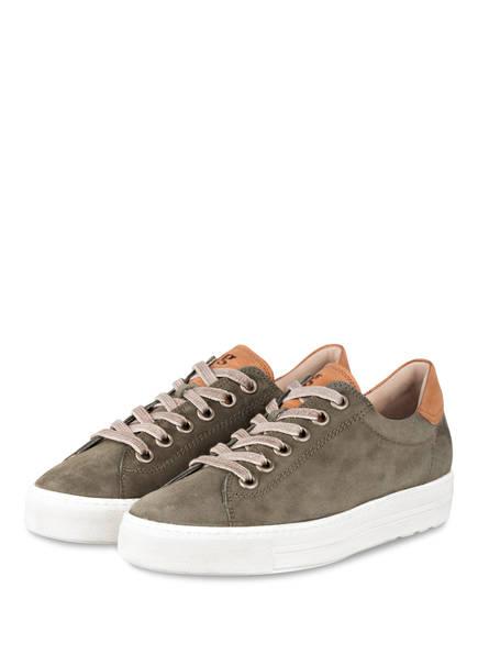 paul green Sneaker, Farbe: OLIV (Bild 1)